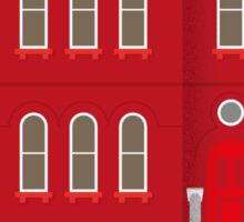 Red House Sticker