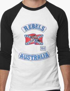 rebel MC supporter  Men's Baseball ¾ T-Shirt