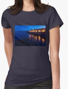Syracuse, Sicily Blue Hour - Ortygia Evening Mood Womens Fitted T-Shirt