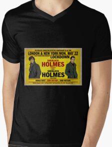 Lockdown Mens V-Neck T-Shirt