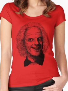 Doc Brown Women's Fitted Scoop T-Shirt