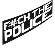 Cool Fuck The Police Logo Design by Style-O-Mat