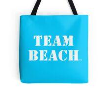 TEAM BEACH - Ocean Blue Tote Tote Bag