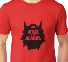 attack of the beards Unisex T-Shirt