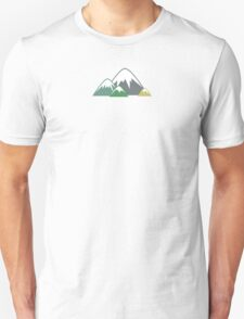 Candy Mountains Unisex T-Shirt