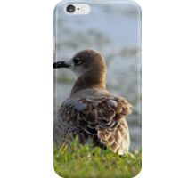 Sitting By The Water iPhone Case/Skin