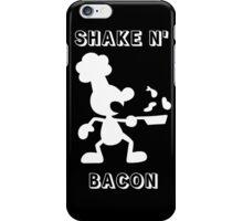 Shake & Bacon (White) iPhone Case/Skin