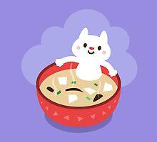 Miso Cat by catmoji