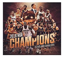 NEW CHAMPIONS | Cleveland Cavaliers 2016 Champions Photographic Print