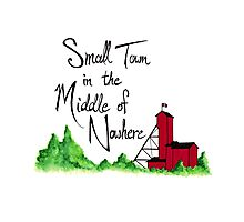 Small Town in the Middle of Nowhere Photographic Print