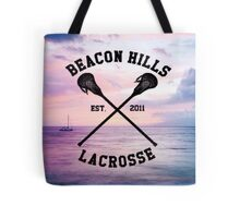 Teen Wolf Lacrosse  Tote Bag