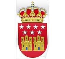 Coat of Arms of the Community of Madrid Poster