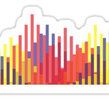 Digital Mountains Sticker