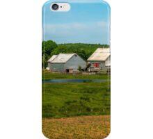 Farm in Scotch Village iPhone Case/Skin