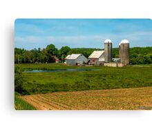 Farm in Scotch Village Canvas Print
