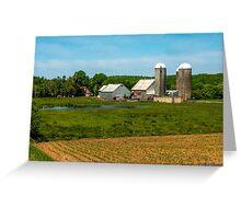 Farm in Scotch Village Greeting Card