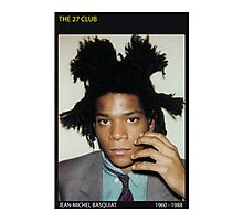BASQUIAT-THE 27 CLUB Photographic Print