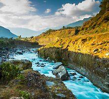 Pokhara River by Jamin Walsh