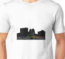 Orlando Strong - Downtown/Eola Skyline Unisex T-Shirt