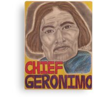 Chief Geronimo Canvas Print