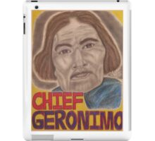 Chief Geronimo iPad Case/Skin