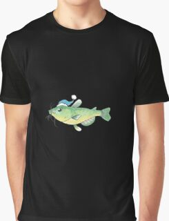 Winter Catfish Graphic T-Shirt