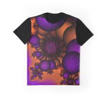 Bubble Vortex Graphic T-Shirt
