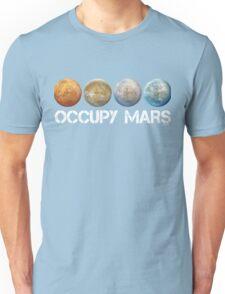 Occupy Mars Terraform Unisex T-Shirt