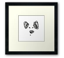 The Doggy Framed Print