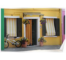 Colors of Burano 2 Poster
