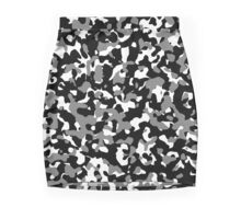 Concrete Jungle Camouflage Mini Skirt