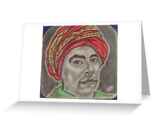 Chief Sequoyah Greeting Card