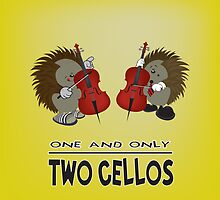 two cellos by mangulica