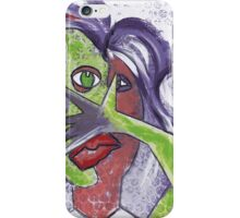 Pulp Fiction Goes Picasso iPhone Case/Skin