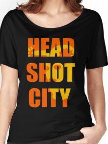 HEAD SHOT CITY Ver. 1.6 Women's Relaxed Fit T-Shirt
