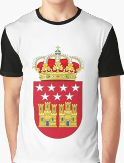 Coat of Arms of the Community of Madrid Graphic T-Shirt