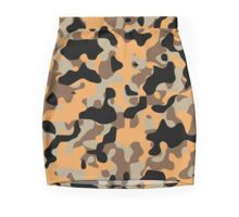 Desert Camouflage Mini Skirt