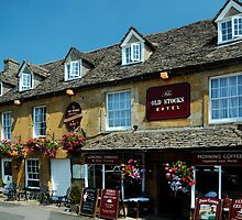 Old Stocks Inn, Stow on the Wold, Cotswolds, England by rodsfotos