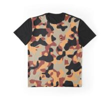 Desert Camouflage Graphic T-Shirt