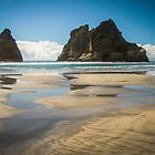 Archway Islands, Golden Bay New Zealand by Kathy Reid