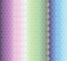 Rainbow Triangles by Charlotte Anderson