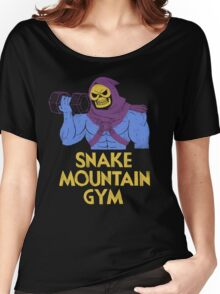snake mountain gym Women's Relaxed Fit T-Shirt