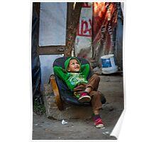 Kathmandu Slums Poster