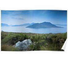 Lake Pedder - Blue Morning - Tasmania Poster