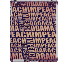 Impeach Barack Obama iPad Case/Skin