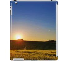 Countryside sunset iPad Case/Skin