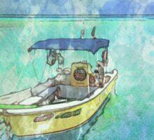 Dive Boat at Mia Reef, Isla Mujeres Sticker