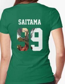 Saitama Jersey Womens Fitted T-Shirt
