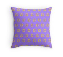 Yellow frame - Friends Throw Pillow