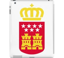 Coat of Arms of the Community of Madrid iPad Case/Skin